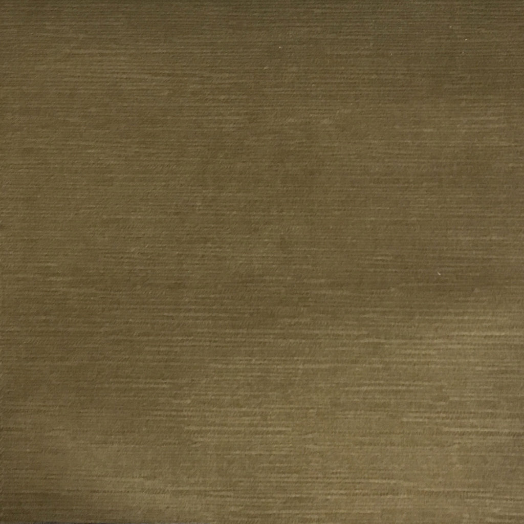 Pond - Strie Textured Microfiber Slubbed Velvet Fabric Upholstery Fabric by the Yard - Available in 40 Colors - Bronze - Top Fabric - 27