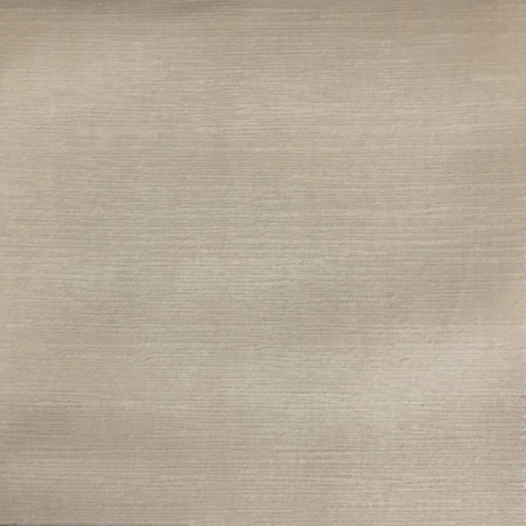 Pond - Strie Textured Microfiber Slubbed Velvet Fabric Upholstery Fabric by the Yard - Available in 40 Colors - Buckwheat - Top Fabric - 37