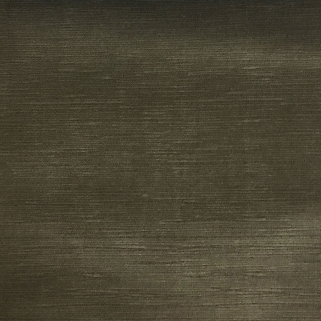 Pond - Strie Textured Microfiber Slubbed Velvet Fabric Upholstery Fabric by the Yard - Available in 40 Colors - Earth - Top Fabric - 25