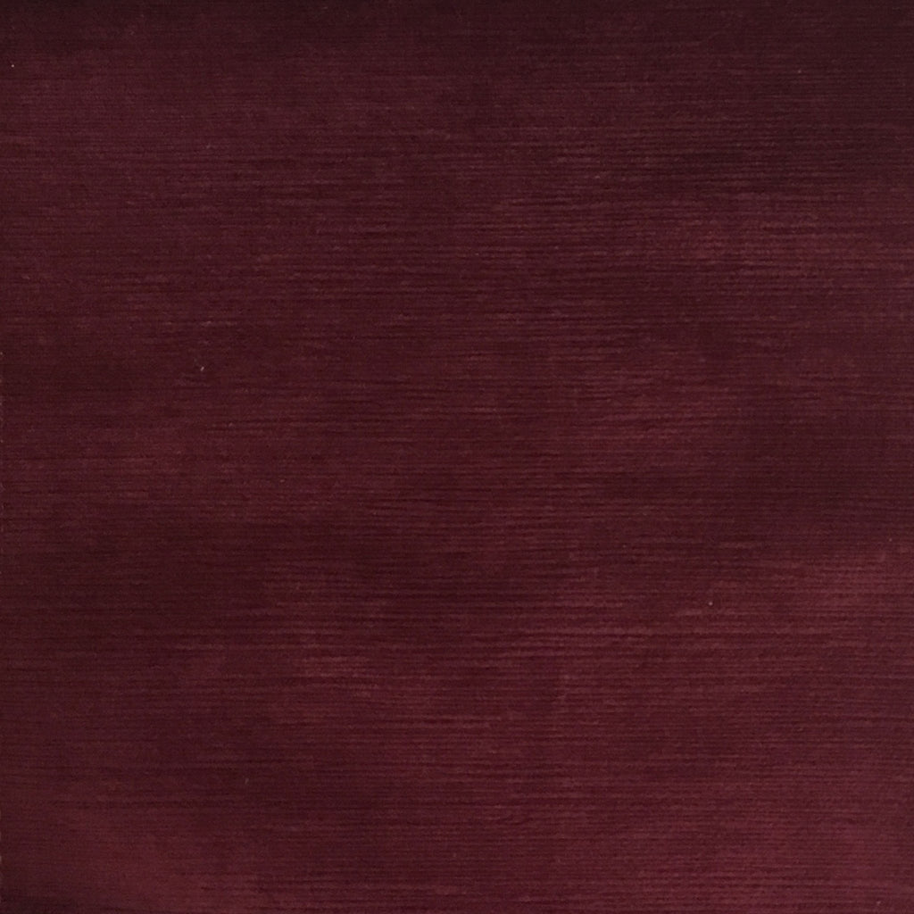 Pond - Strie Textured Microfiber Slubbed Velvet Fabric Upholstery Fabric by the Yard - Available in 40 Colors - Fig - Top Fabric - 16