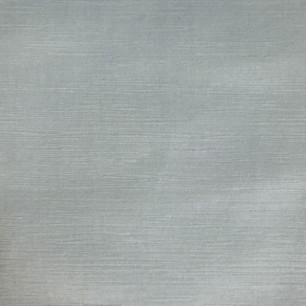 Pond - Strie Textured Microfiber Slubbed Velvet Fabric Upholstery Fabric by the Yard - Available in 40 Colors - Glacier - Top Fabric - 2