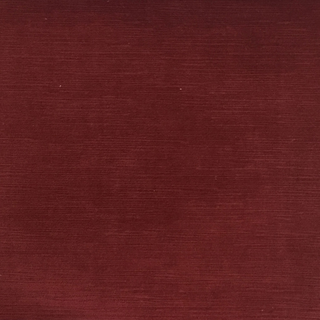 Pond - Strie Textured Microfiber Slubbed Velvet Fabric Upholstery Fabric by the Yard - Available in 40 Colors - Henna - Top Fabric - 18