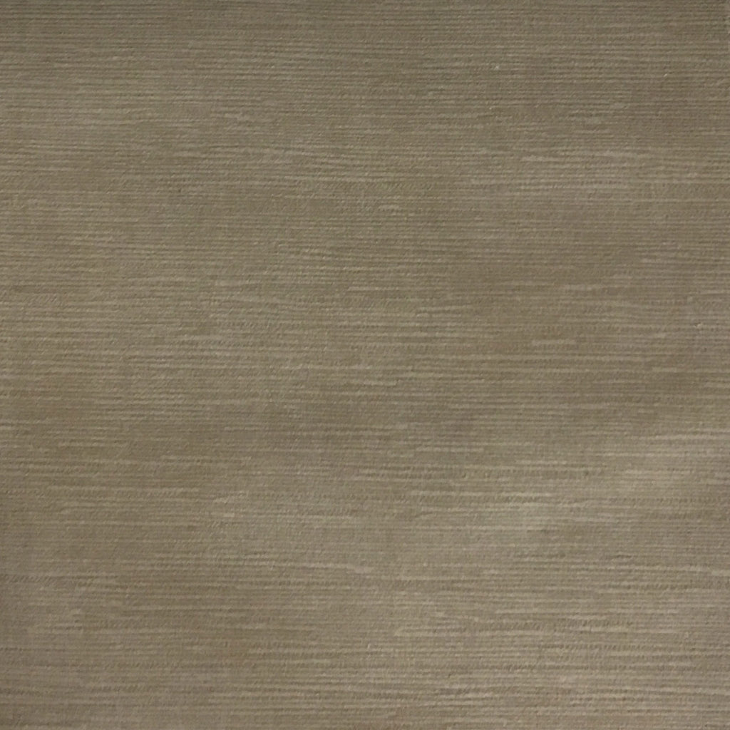 Pond - Strie Textured Microfiber Slubbed Velvet Fabric Upholstery Fabric by the Yard - Available in 40 Colors - Latte - Top Fabric - 28