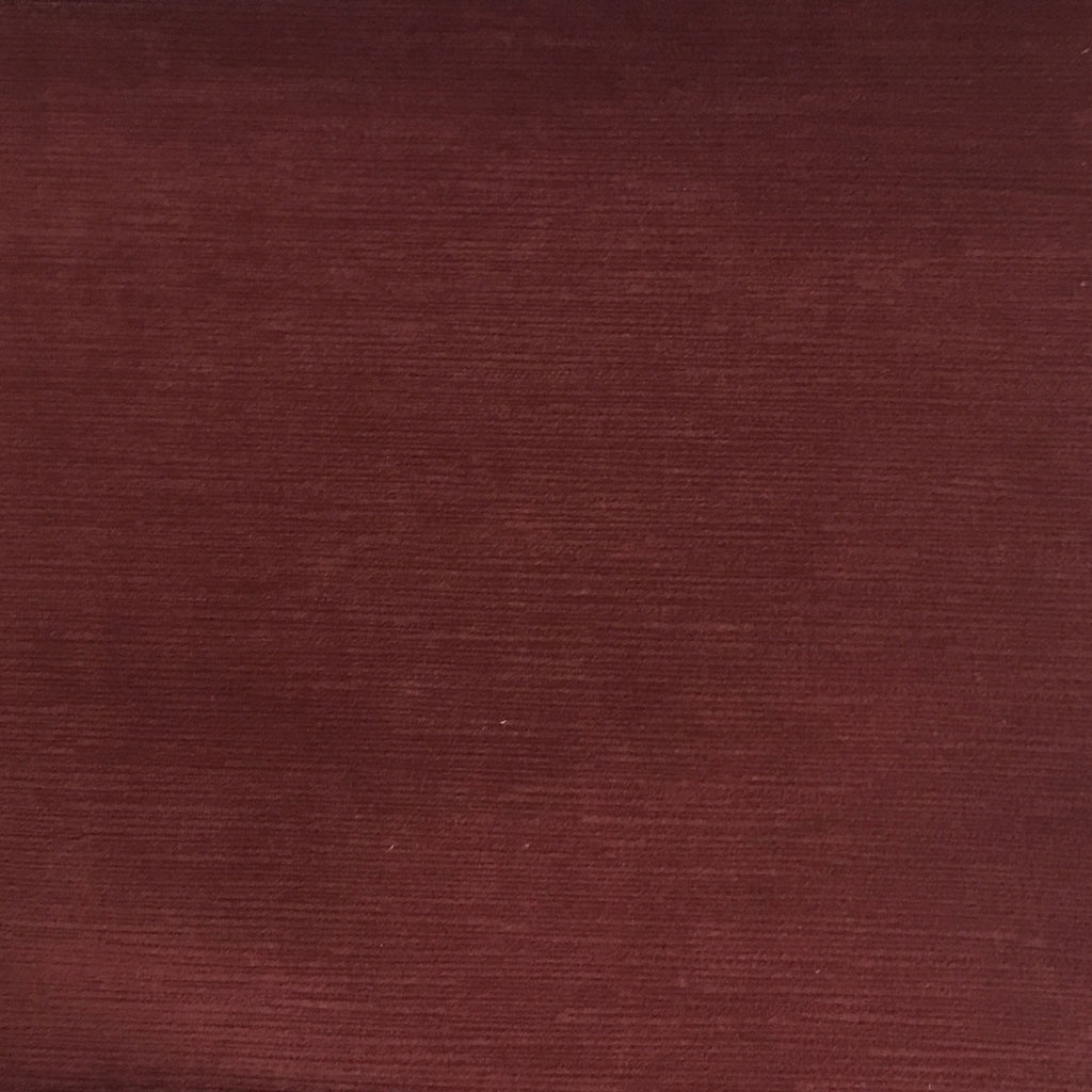 Pond - Strie Textured Microfiber Slubbed Velvet Fabric Upholstery Fabric by the Yard - Available in 40 Colors - Marsala - Top Fabric - 17