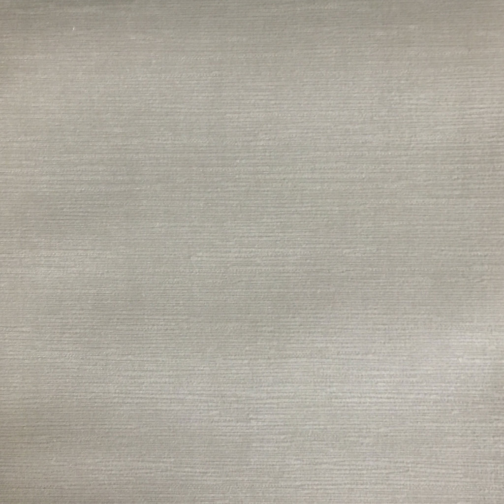 Pond - Strie Textured Microfiber Slubbed Velvet Fabric Upholstery Fabric by the Yard - Available in 40 Colors - Whisper - Top Fabric - 38