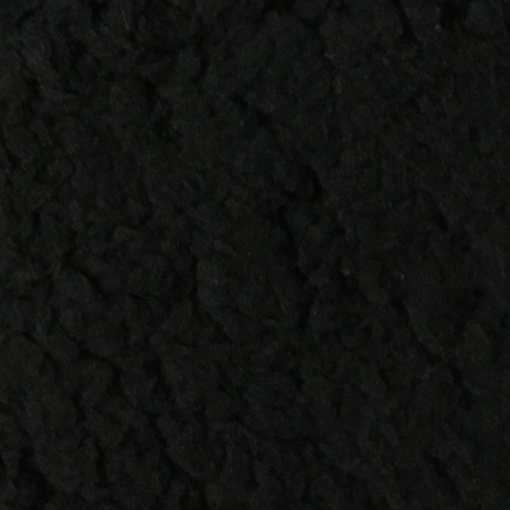 Puffy - Stretch Sherpa Fabric Faux Fur Fabric by the Yard - Available in 13 Colors - Black - Top Fabric - 6
