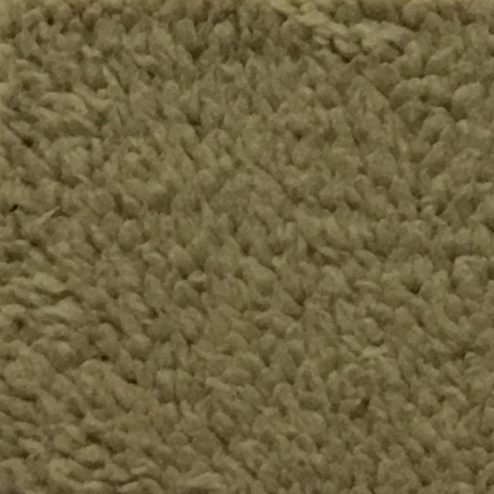 Puffy - Stretch Sherpa Fabric Faux Fur Fabric by the Yard - Available in 13 Colors - Khaki - Top Fabric - 9