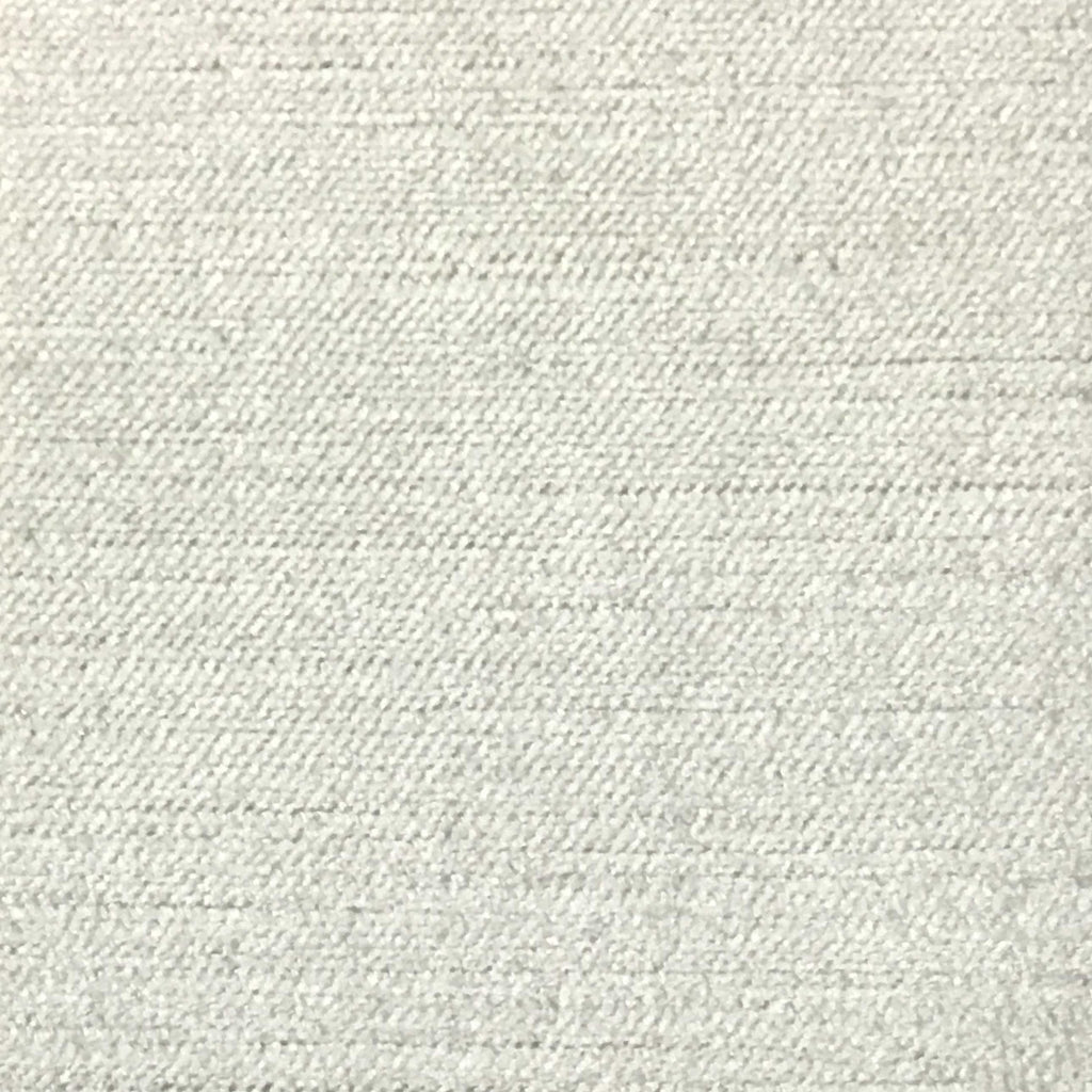 Queen - Lustrous Metallic Solid Cotton Rayon Blend Upholstery Velvet Fabric by the Yard - Available in 83 Colors - Antique White - Top Fabric - 29