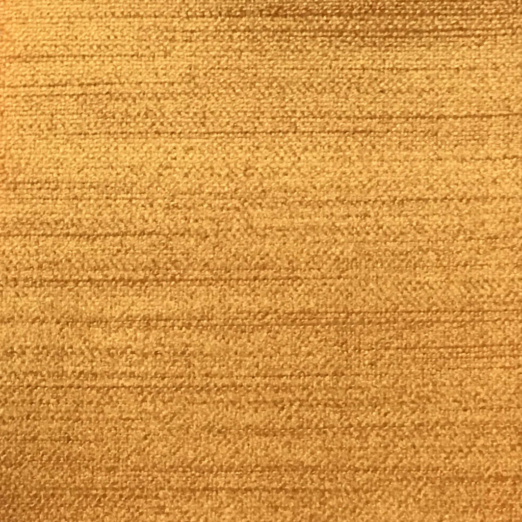 Queen - Lustrous Metallic Solid Cotton Rayon Blend Upholstery Velvet Fabric by the Yard - Available in 83 Colors - Apricot - Top Fabric - 72