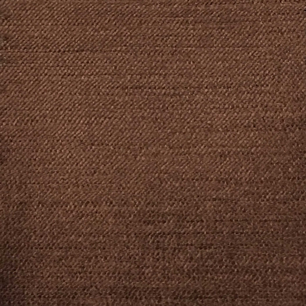 Queen - Lustrous Metallic Solid Cotton Rayon Blend Upholstery Velvet Fabric by the Yard - Available in 83 Colors - Brown - Top Fabric - 79