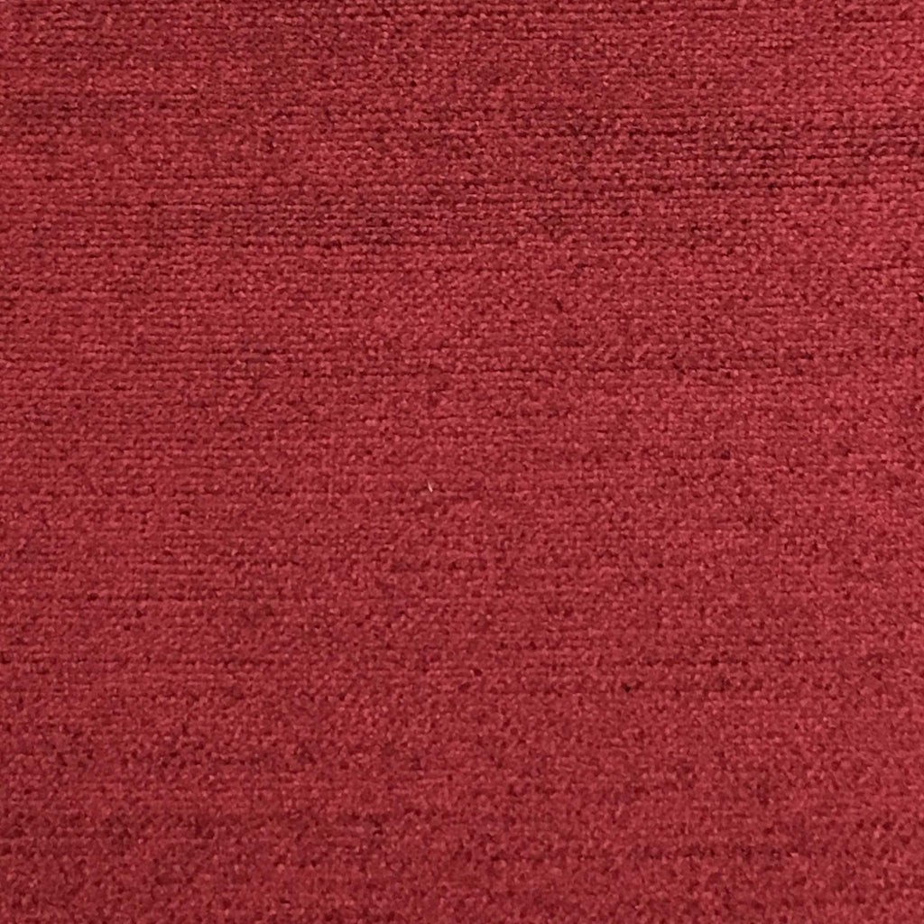 Queen - Lustrous Metallic Solid Cotton Rayon Blend Upholstery Velvet Fabric by the Yard - Available in 83 Colors - Burgundy - Top Fabric - 63