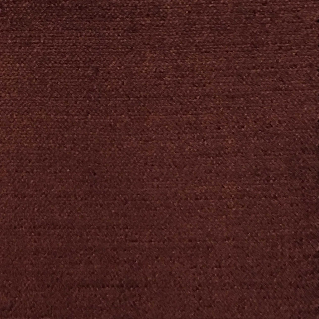 Queen - Lustrous Metallic Solid Cotton Rayon Blend Upholstery Velvet Fabric by the Yard - Available in 83 Colors - Cedar - Top Fabric - 67