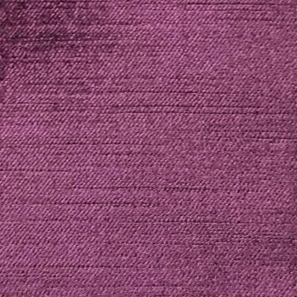 Queen - Lustrous Metallic Solid Cotton Rayon Blend Upholstery Velvet Fabric by the Yard - Available in 83 Colors - Dark Purple - Top Fabric - 56