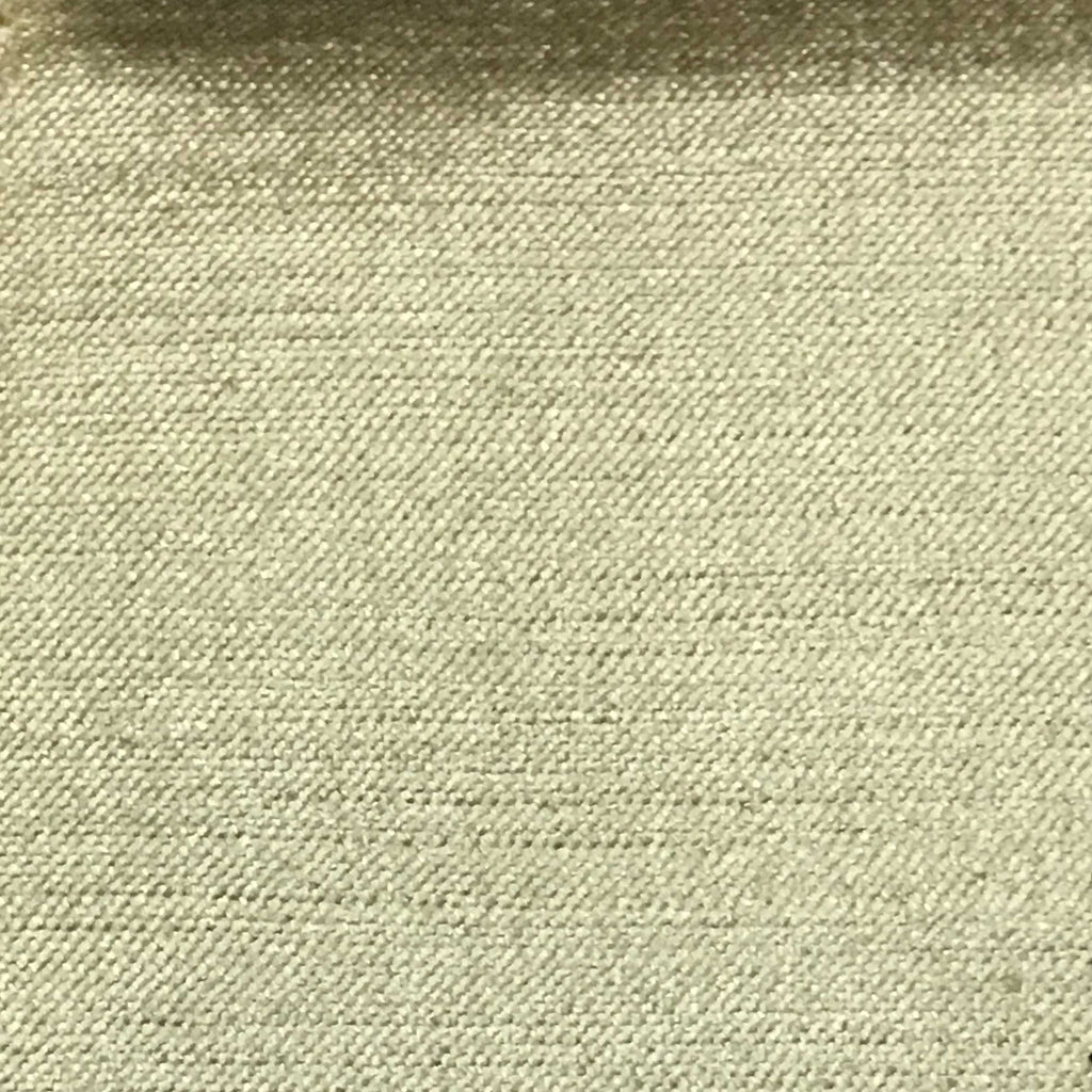Queen - Lustrous Metallic Solid Cotton Rayon Blend Upholstery Velvet Fabric by the Yard - Available in 83 Colors - French Vanilla - Top Fabric - 24