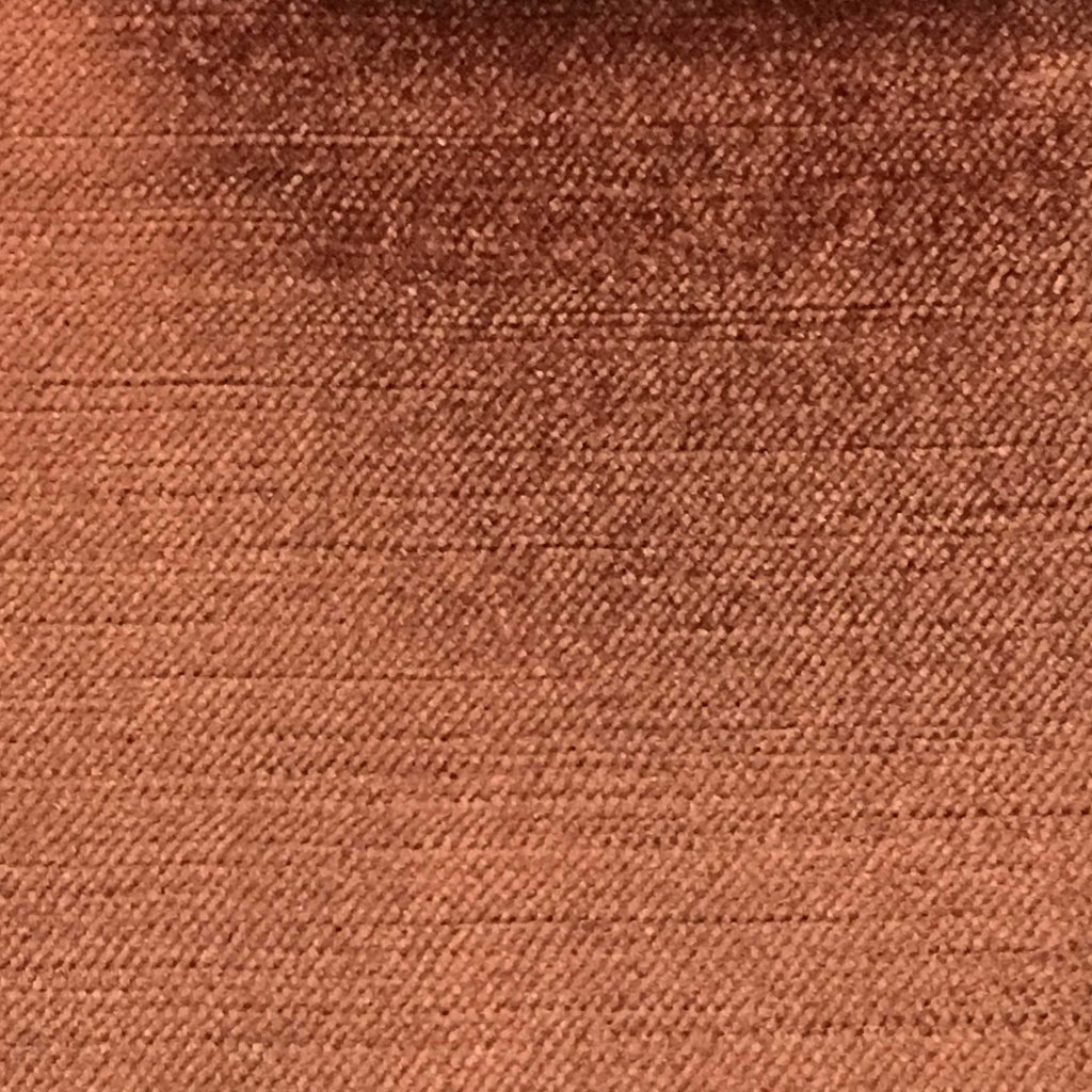 Queen - Lustrous Metallic Solid Cotton Rayon Blend Upholstery Velvet Fabric by the Yard - Available in 83 Colors - Ginger - Top Fabric - 68