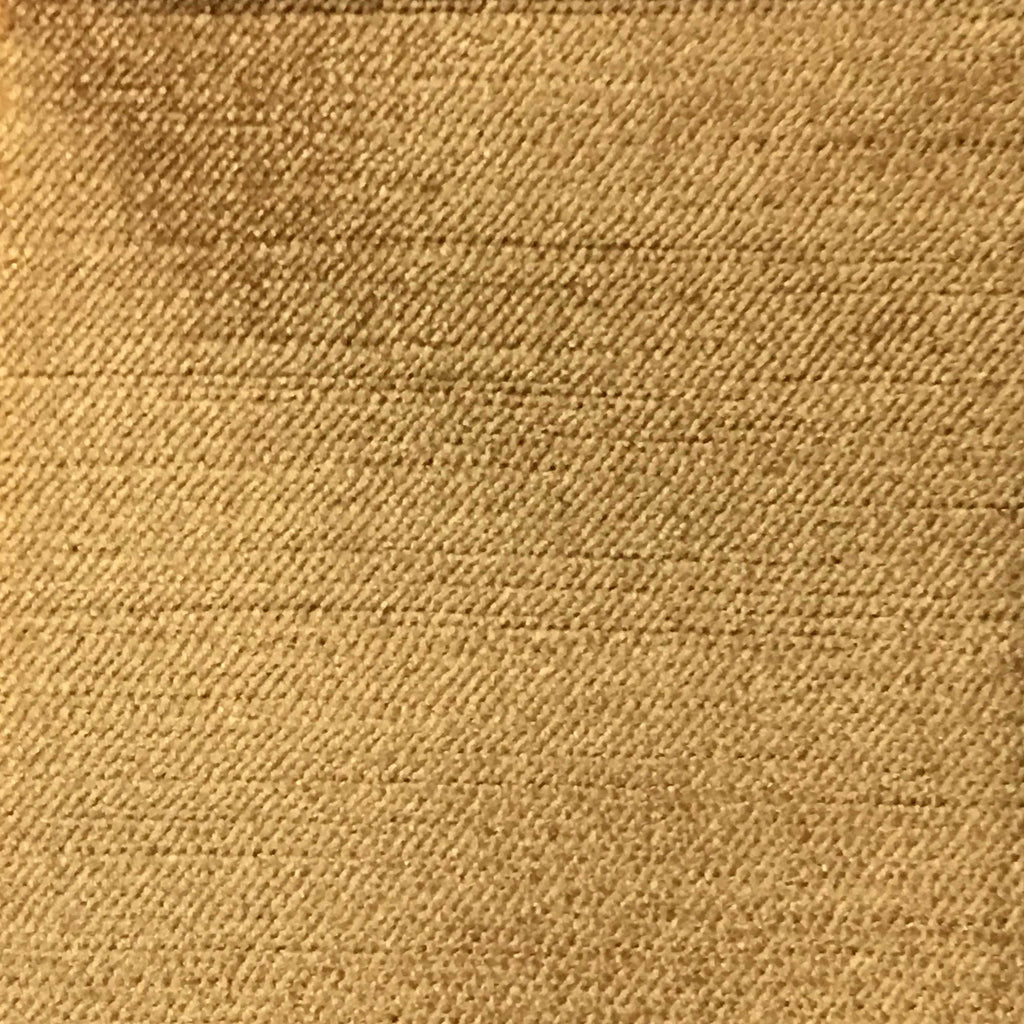 Queen - Lustrous Metallic Solid Cotton Rayon Blend Upholstery Velvet Fabric by the Yard - Available in 83 Colors - Golden Glow - Top Fabric - 70