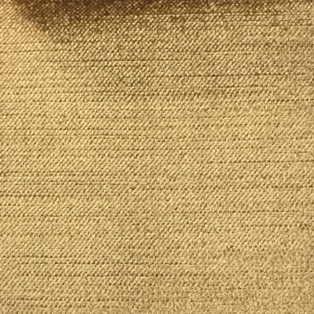 Queen - Lustrous Metallic Solid Cotton Rayon Blend Upholstery Velvet Fabric by the Yard - Available in 83 Colors - Inca Gold - Top Fabric - 21