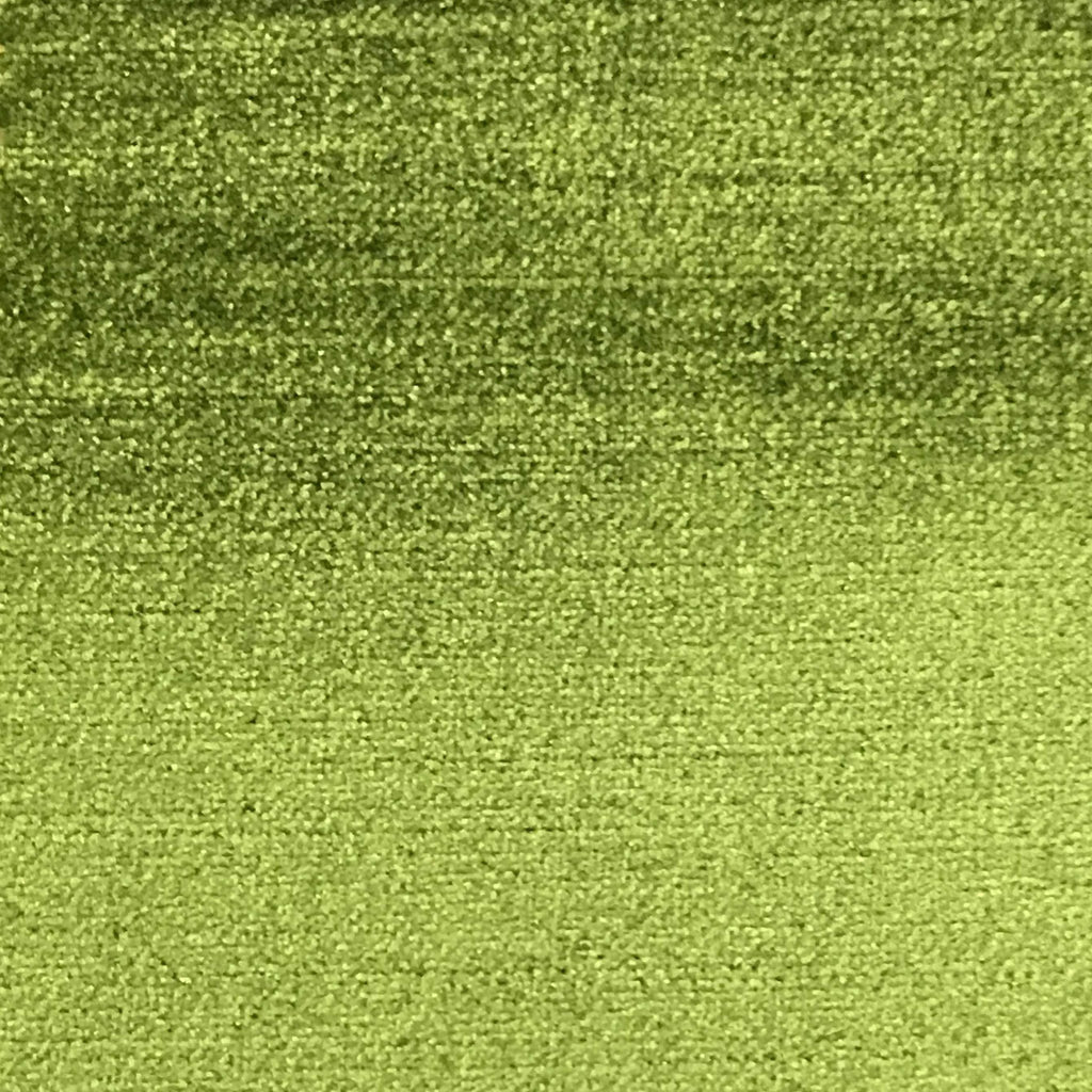 Queen - Lustrous Metallic Solid Cotton Rayon Blend Upholstery Velvet Fabric by the Yard - Available in 83 Colors - Lime Green - Top Fabric - 4