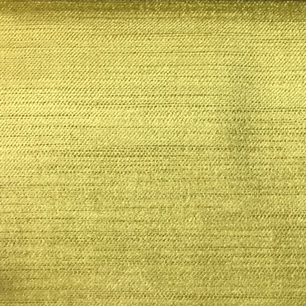 Queen - Lustrous Metallic Solid Cotton Rayon Blend Upholstery Velvet Fabric by the Yard - Available in 83 Colors - Maize - Top Fabric - 15