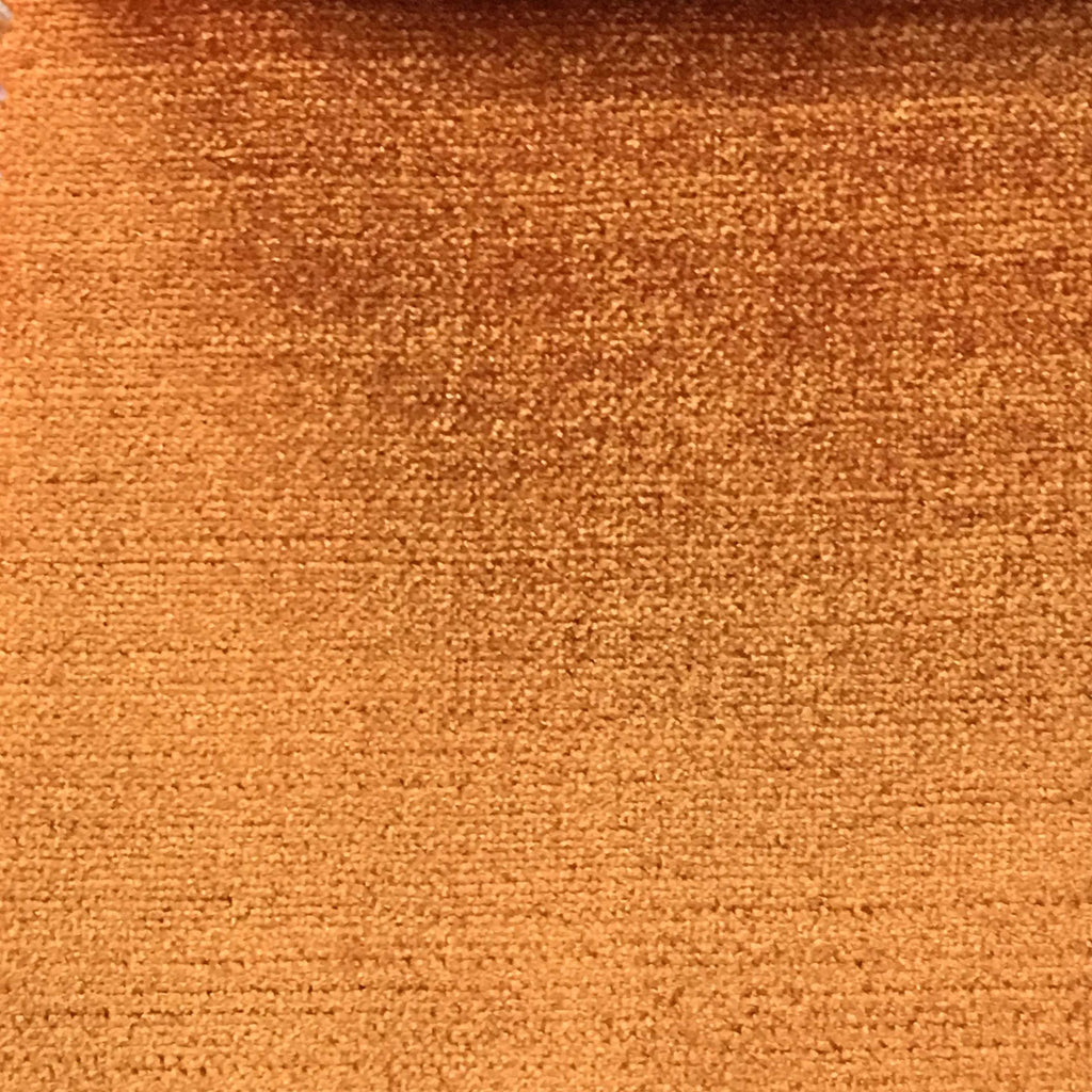 Queen - Lustrous Metallic Solid Cotton Rayon Blend Upholstery Velvet Fabric by the Yard - Available in 83 Colors - Melon - Top Fabric - 71