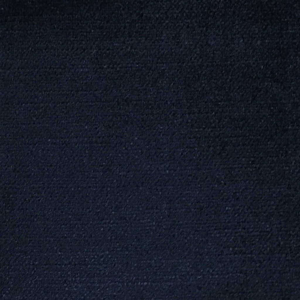 Queen - Lustrous Metallic Solid Cotton Rayon Blend Upholstery Velvet Fabric by the Yard - Available in 83 Colors - Navy - Top Fabric - 32