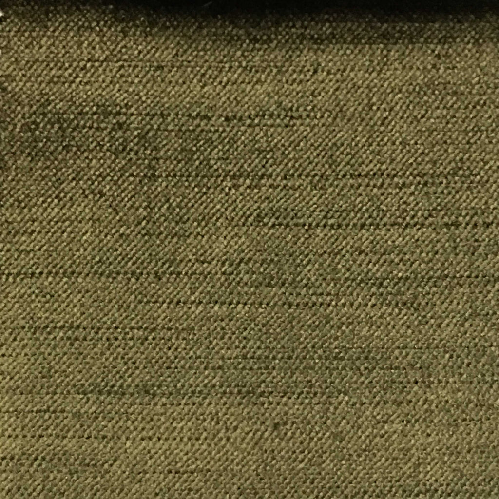 Queen - Lustrous Metallic Solid Cotton Rayon Blend Upholstery Velvet Fabric by the Yard - Available in 83 Colors - Olive - Top Fabric - 7