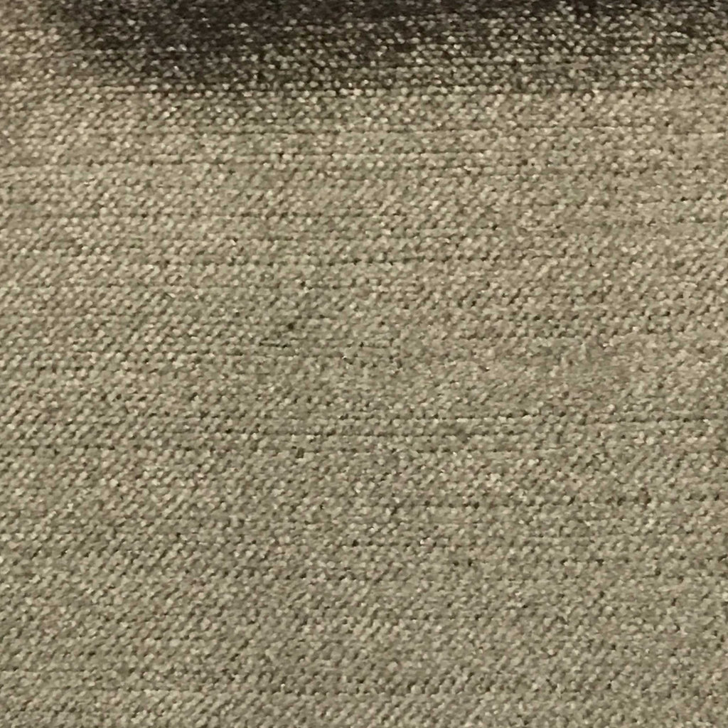Queen - Lustrous Metallic Solid Cotton Rayon Blend Upholstery Velvet Fabric by the Yard - Available in 83 Colors - Peat - Top Fabric - 83