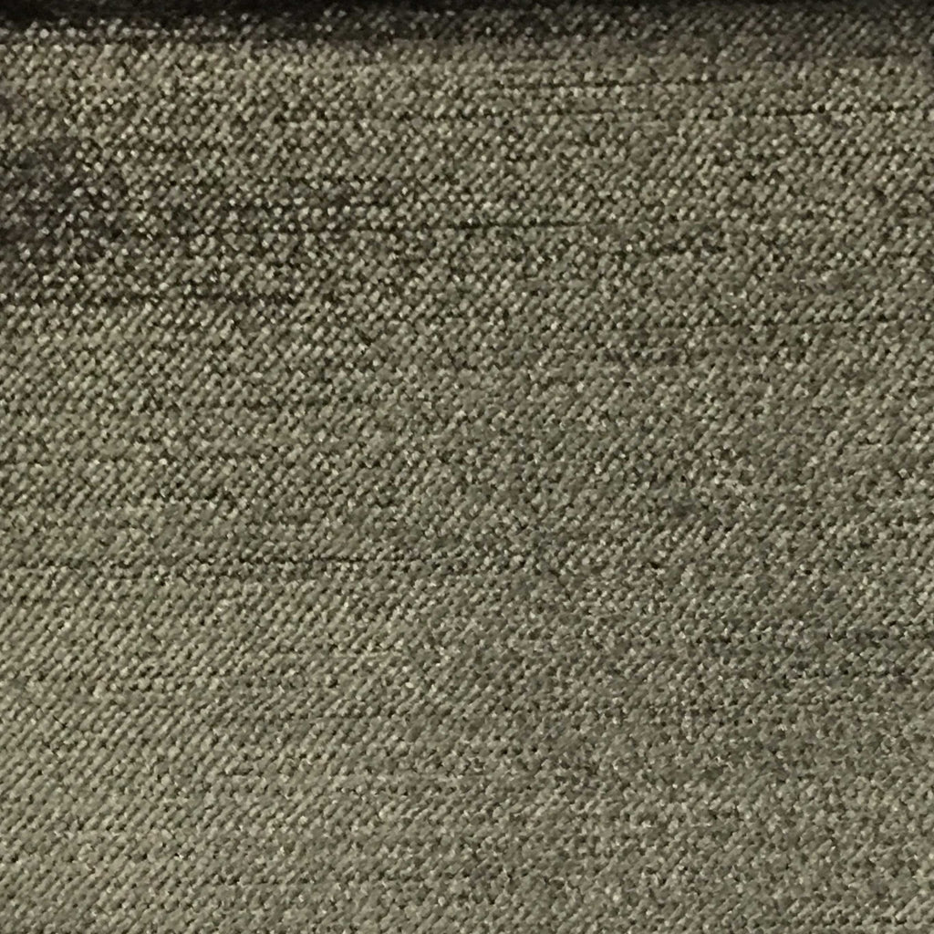 Queen - Lustrous Metallic Solid Cotton Rayon Blend Upholstery Velvet Fabric by the Yard - Available in 83 Colors - Pewter - Top Fabric - 84