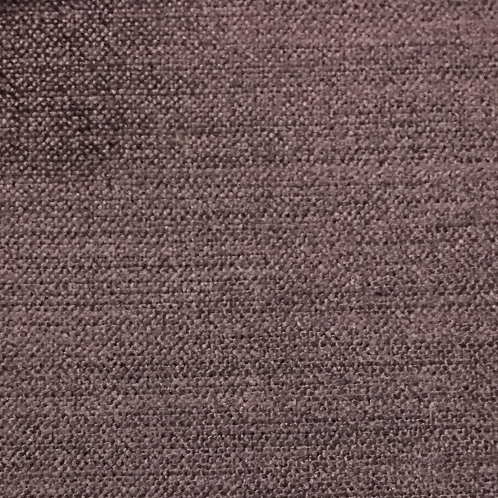 Queen - Lustrous Metallic Solid Cotton Rayon Blend Upholstery Velvet Fabric by the Yard - Available in 83 Colors - Plum - Top Fabric - 54