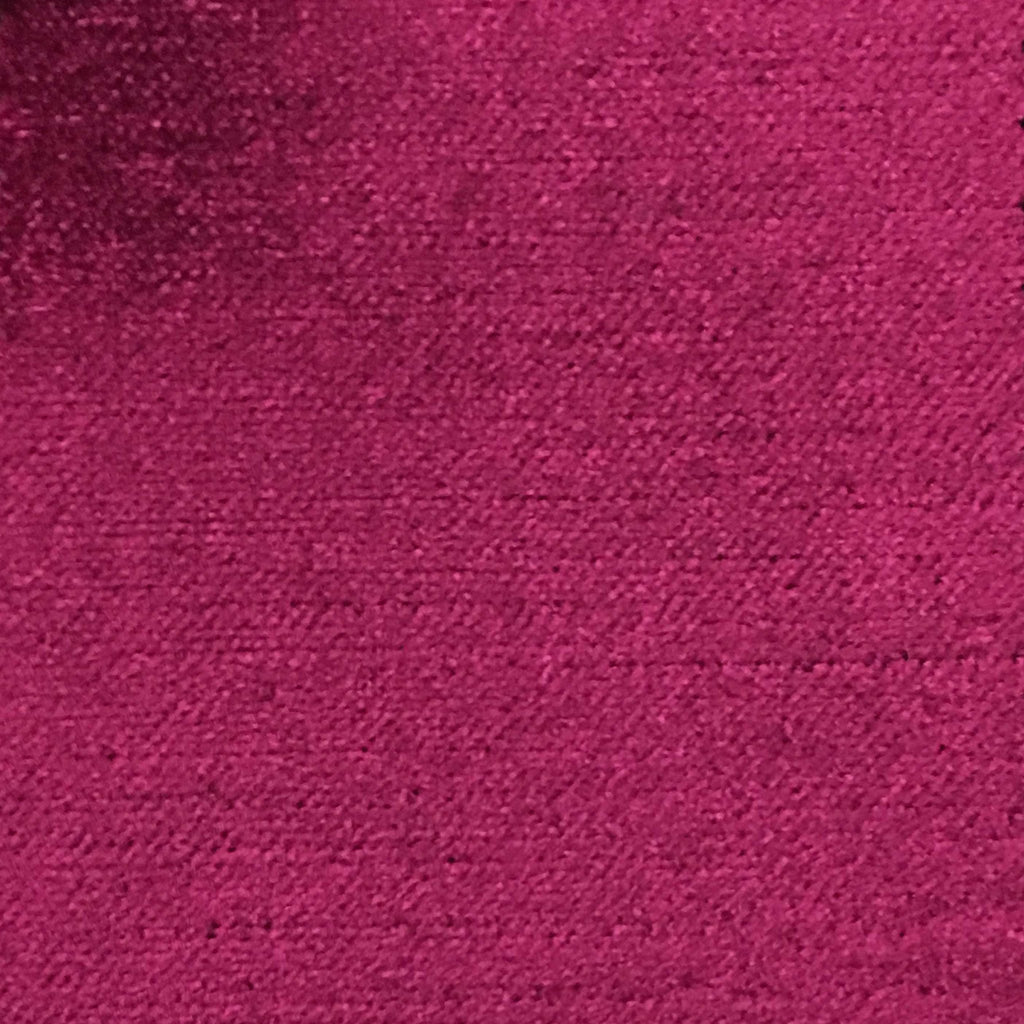 Queen - Lustrous Metallic Solid Cotton Rayon Blend Upholstery Velvet Fabric by the Yard - Available in 83 Colors - Purple Wine - Top Fabric - 57