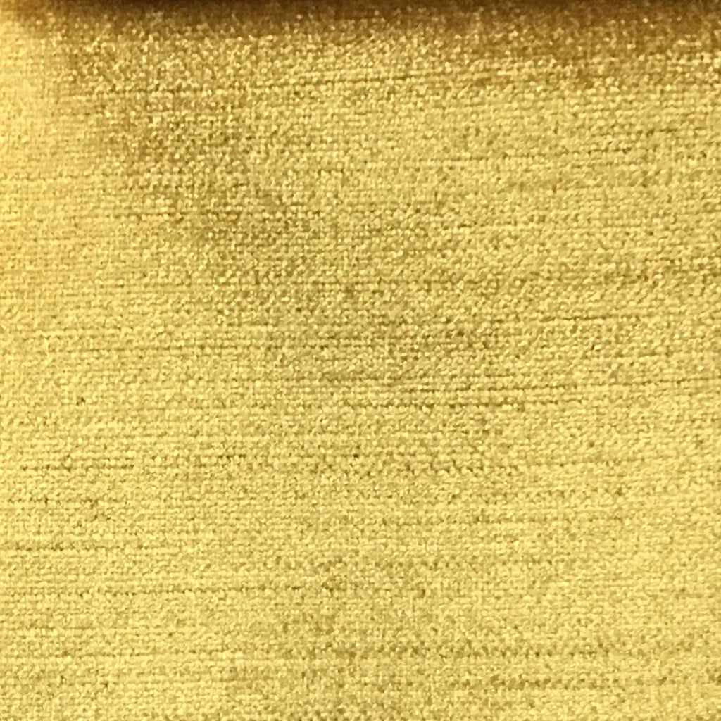 Queen - Lustrous Metallic Solid Cotton Rayon Blend Upholstery Velvet Fabric by the Yard - Available in 83 Colors - Sahara Sun - Top Fabric - 16