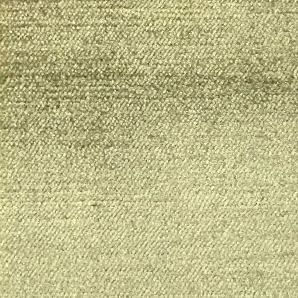 Queen - Lustrous Metallic Solid Cotton Rayon Blend Upholstery Velvet Fabric by the Yard - Available in 83 Colors - Seaweed - Top Fabric - 12