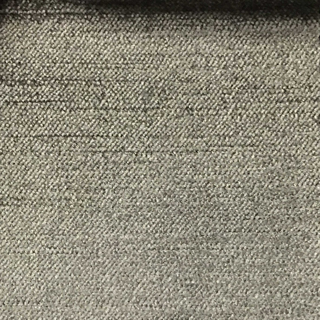 Queen - Lustrous Metallic Solid Cotton Rayon Blend Upholstery Velvet Fabric by the Yard - Available in 83 Colors - Smoke - Top Fabric - 39
