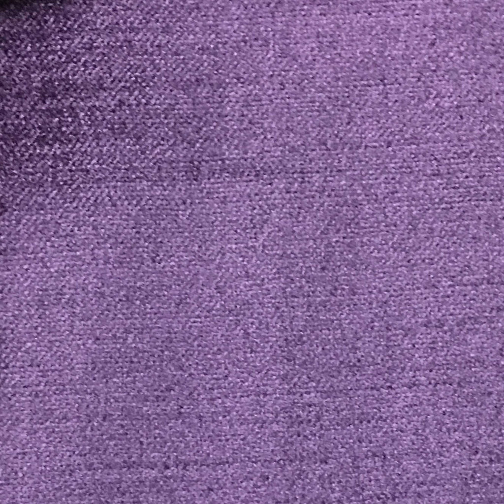 Queen - Lustrous Metallic Solid Cotton Rayon Blend Upholstery Velvet Fabric by the Yard - Available in 83 Colors - Sparkling Grape - Top Fabric - 55