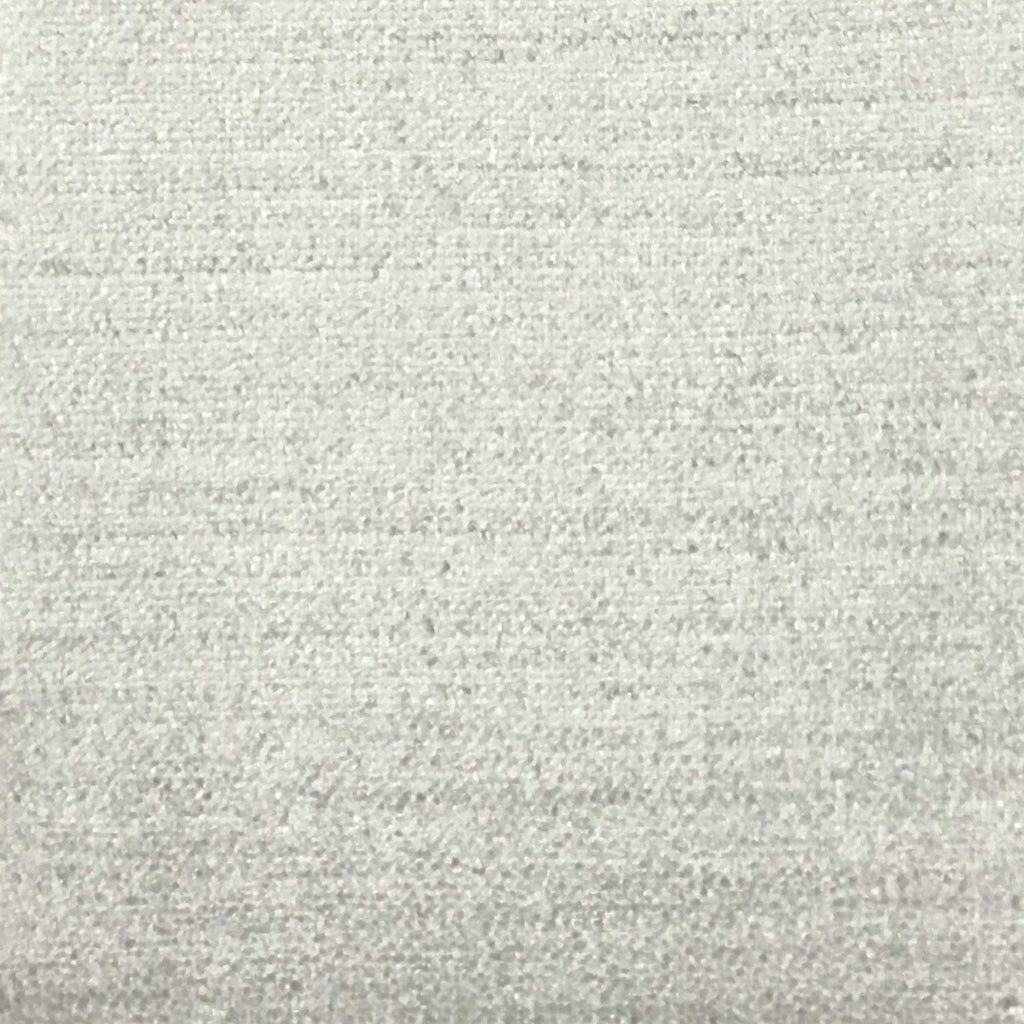 Queen - Lustrous Metallic Solid Cotton Rayon Blend Upholstery Velvet Fabric by the Yard - Available in 83 Colors - Star White - Top Fabric - 38