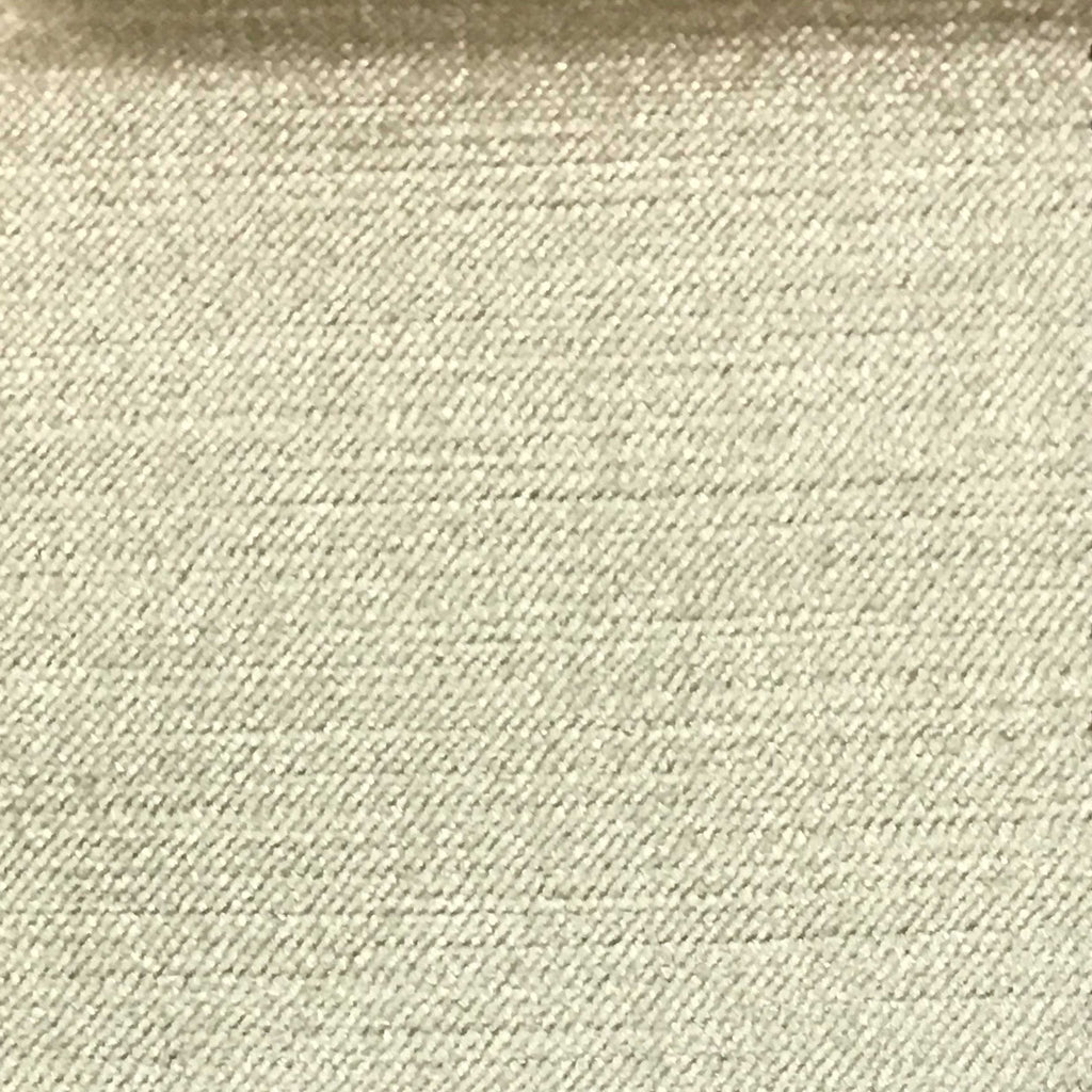 Queen - Lustrous Metallic Solid Cotton Rayon Blend Upholstery Velvet Fabric by the Yard - Available in 83 Colors - Vanilla - Top Fabric - 27