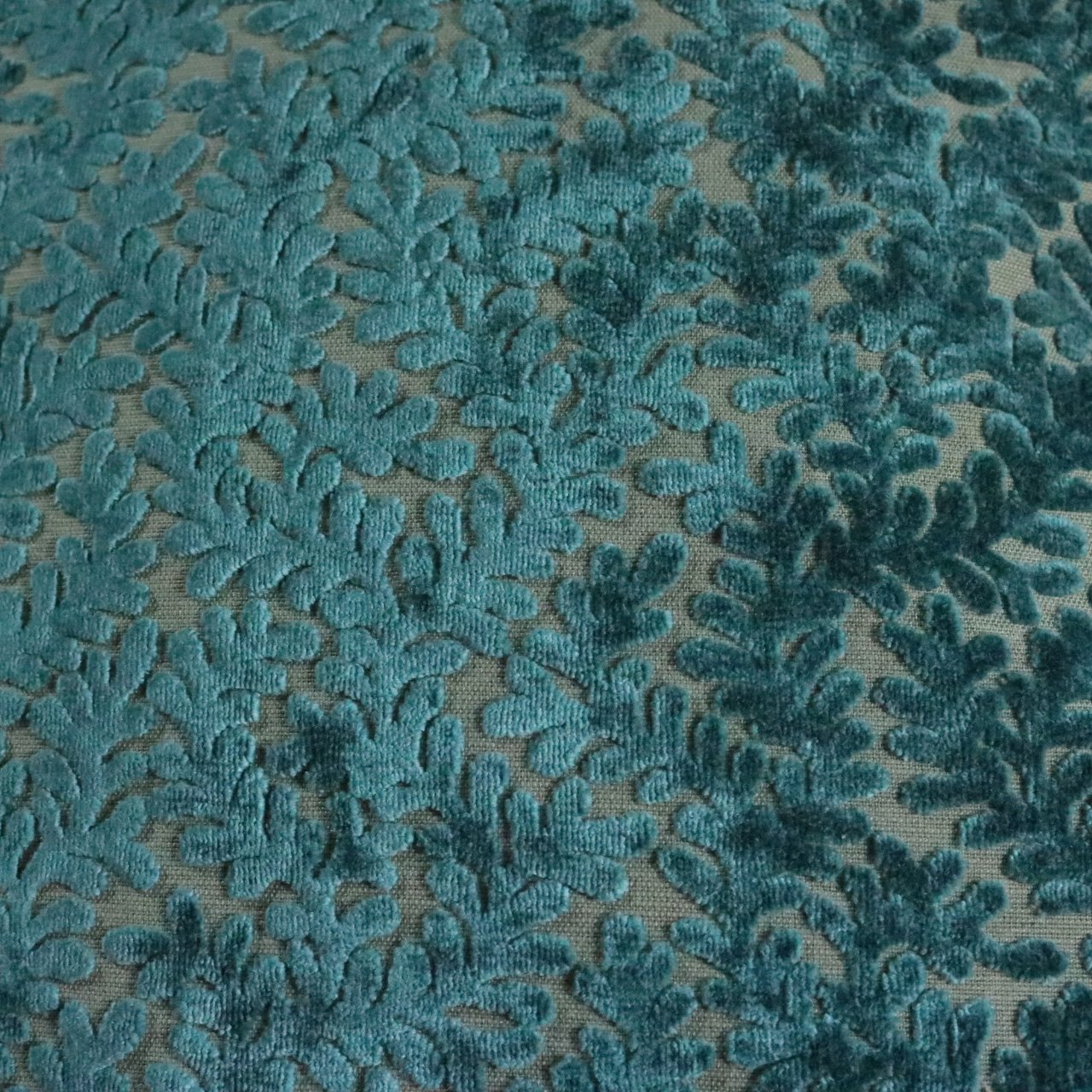 Romeo Burn Out Velvet Upholstery Fabric By The Yard Available In