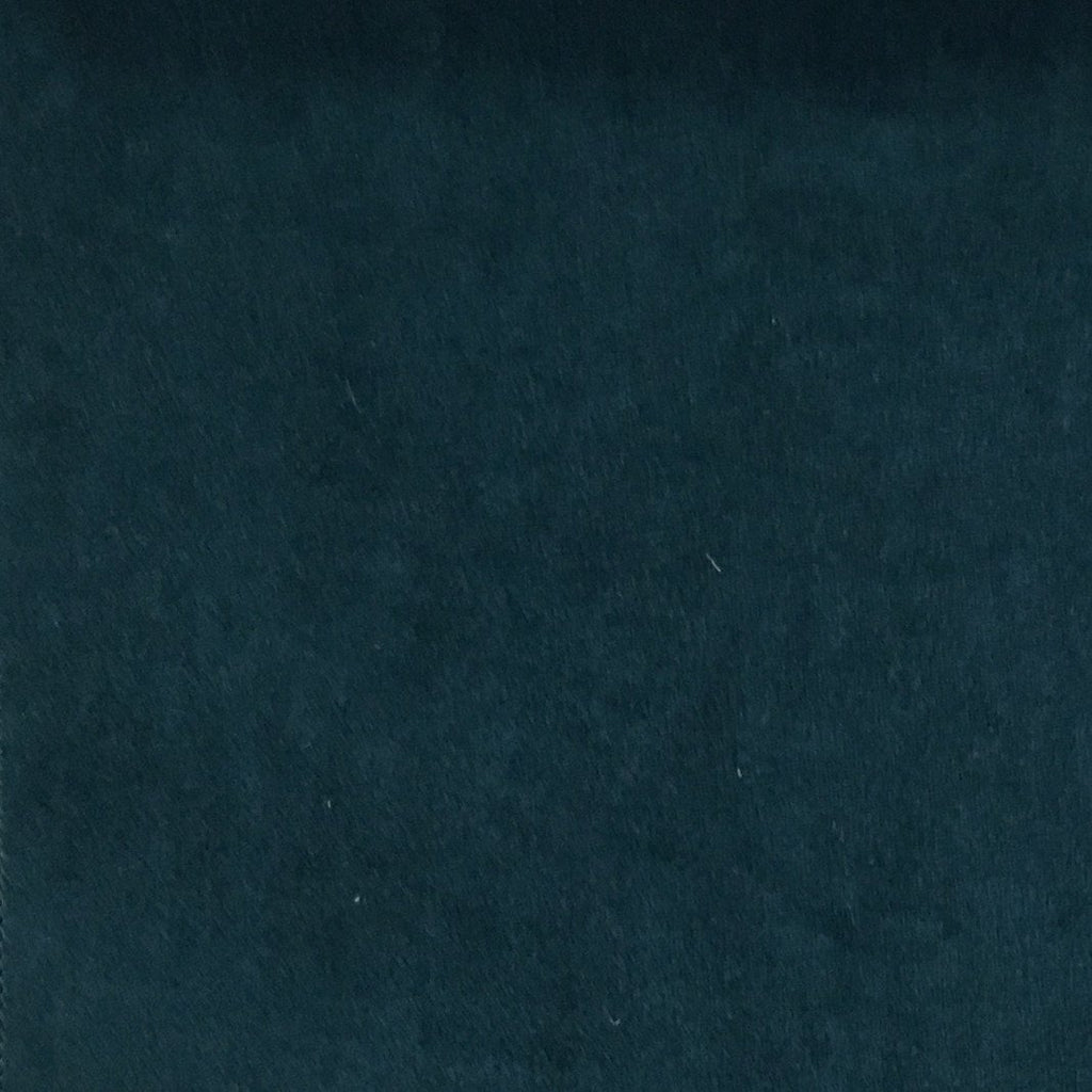 Royce - Solid Plush Padded Velvet Fabric Upholstery Fabric by the Yard - Available in 14 Colors - Orion - Top Fabric - 4