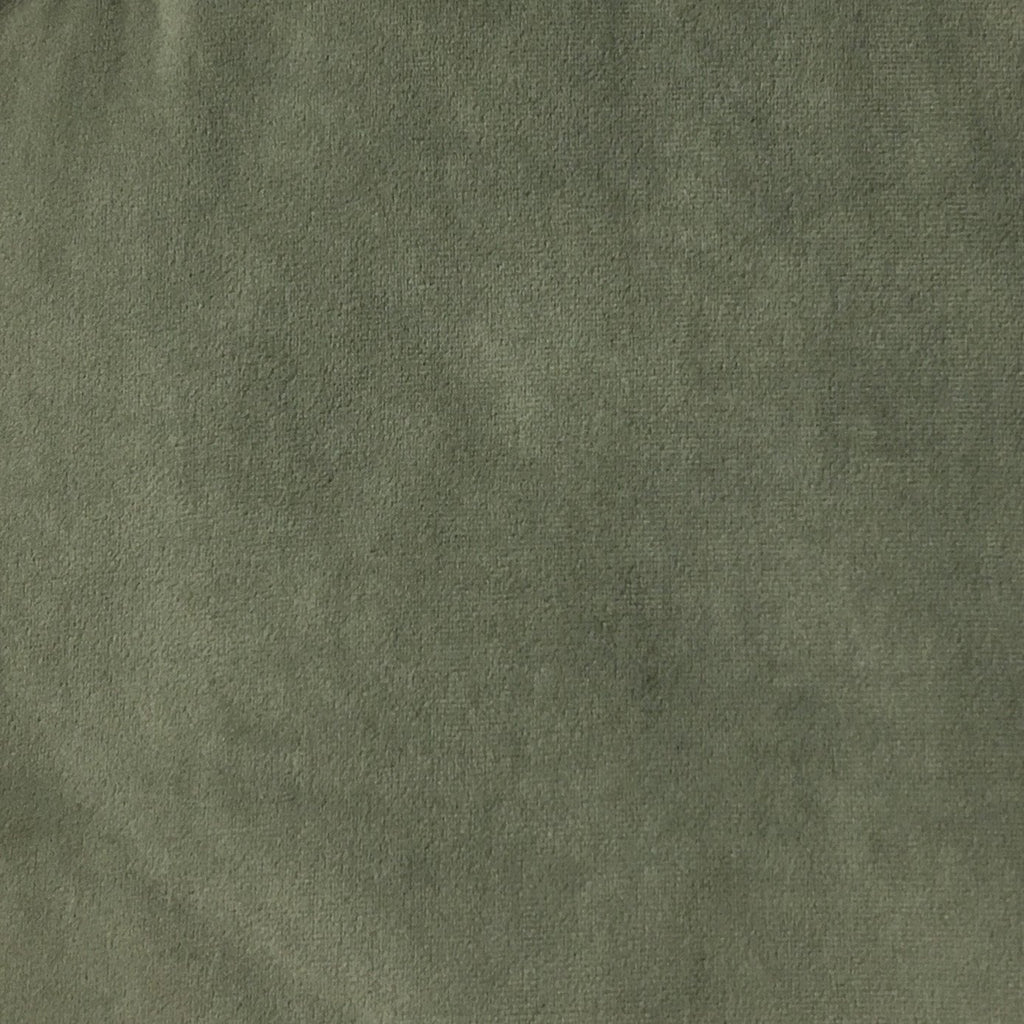 Royce - Solid Plush Padded Velvet Fabric Upholstery Fabric by the Yard - Available in 14 Colors - Storm - Top Fabric - 7
