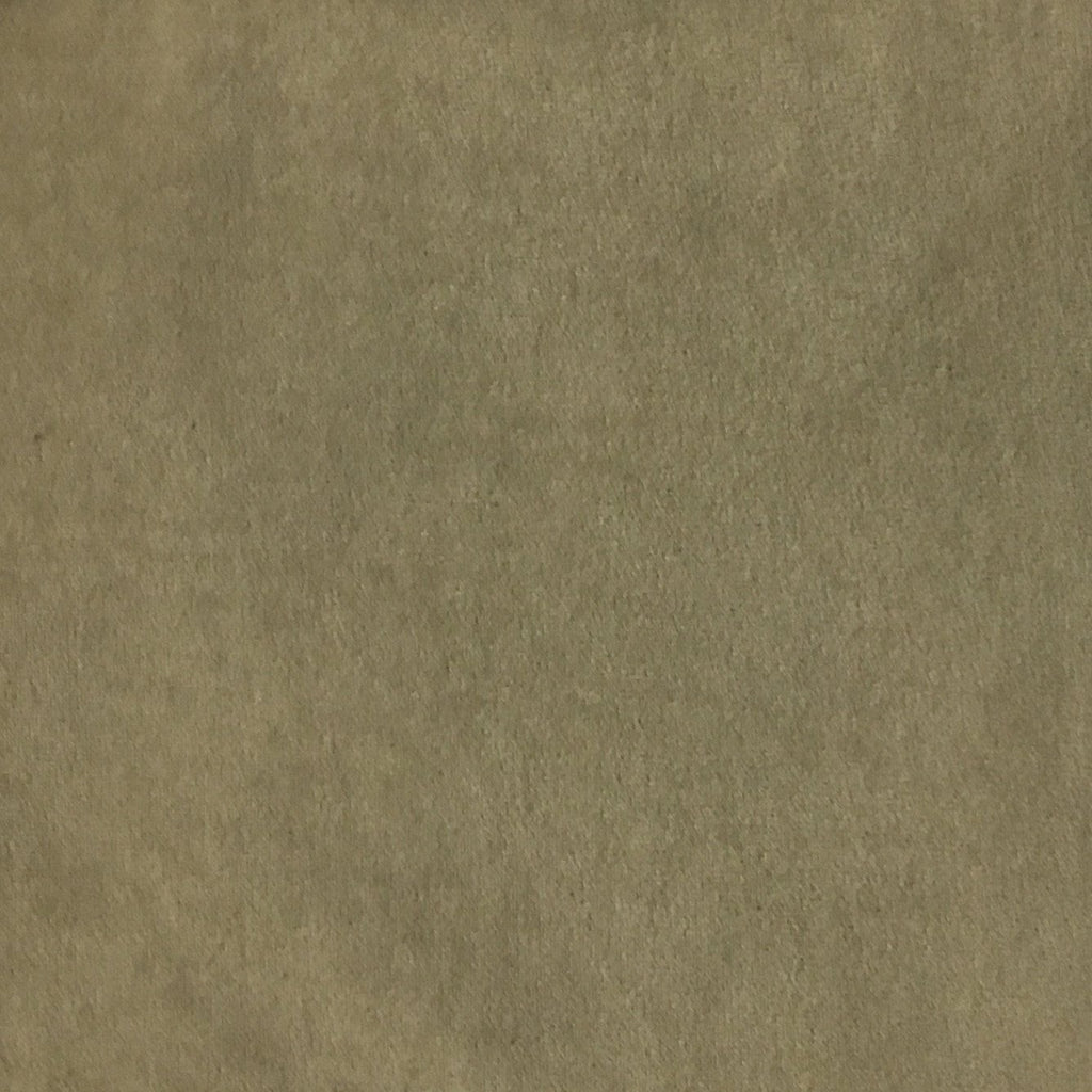 Royce - Solid Plush Padded Velvet Fabric Upholstery Fabric by the Yard - Available in 14 Colors - Wheat - Top Fabric - 9