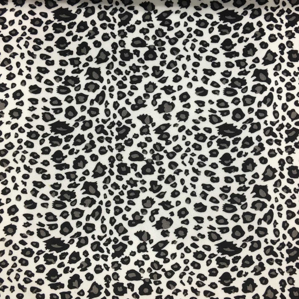 Safari - Cheetah - Short Pile Velvet Fabric Drapery, Pillow, & Upholstery Fabric by the Yard - Available in 2 Colors - Black / With Backing - Top Fabric - 1