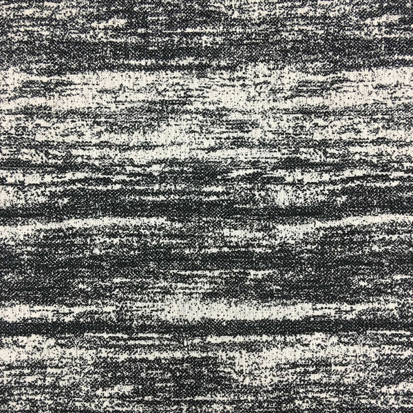 Sandy - Woven Texture Drapery & Upholstery Fabric by the Yard - Available in 16 Colors - Caviar - Top Fabric - 1
