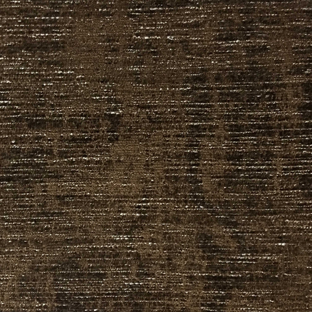 Saunders - Modern Chenille Fabric Upholstery Fabric by the Yard - Available in 22 Colors - Bark - Top Fabric - 15