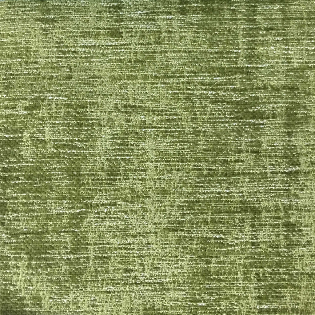 Saunders - Modern Chenille Fabric Upholstery Fabric by the Yard - Available in 22 Colors - Grass - Top Fabric - 8