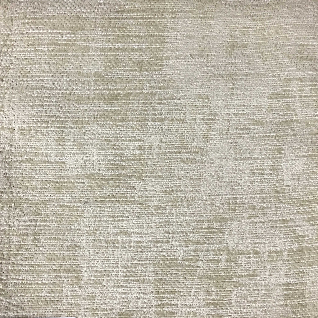 Saunders - Modern Chenille Fabric Upholstery Fabric by the Yard - Available in 22 Colors - Ricepaper - Top Fabric - 13