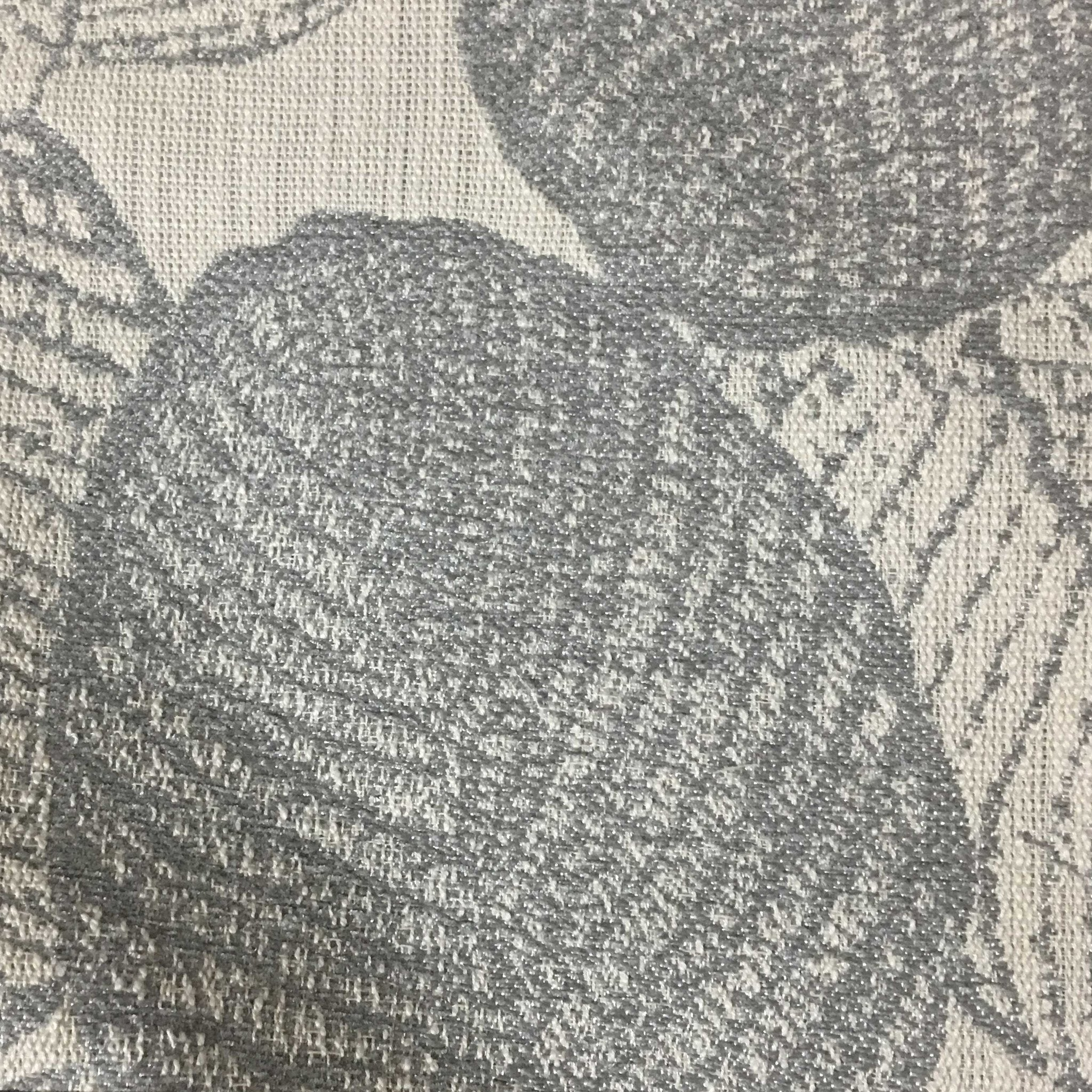 Suede Upholstery Fabric >> Shade - Tropical Pattern Woven Texture Upholstery Fabric by the Yard - - Top Fabric