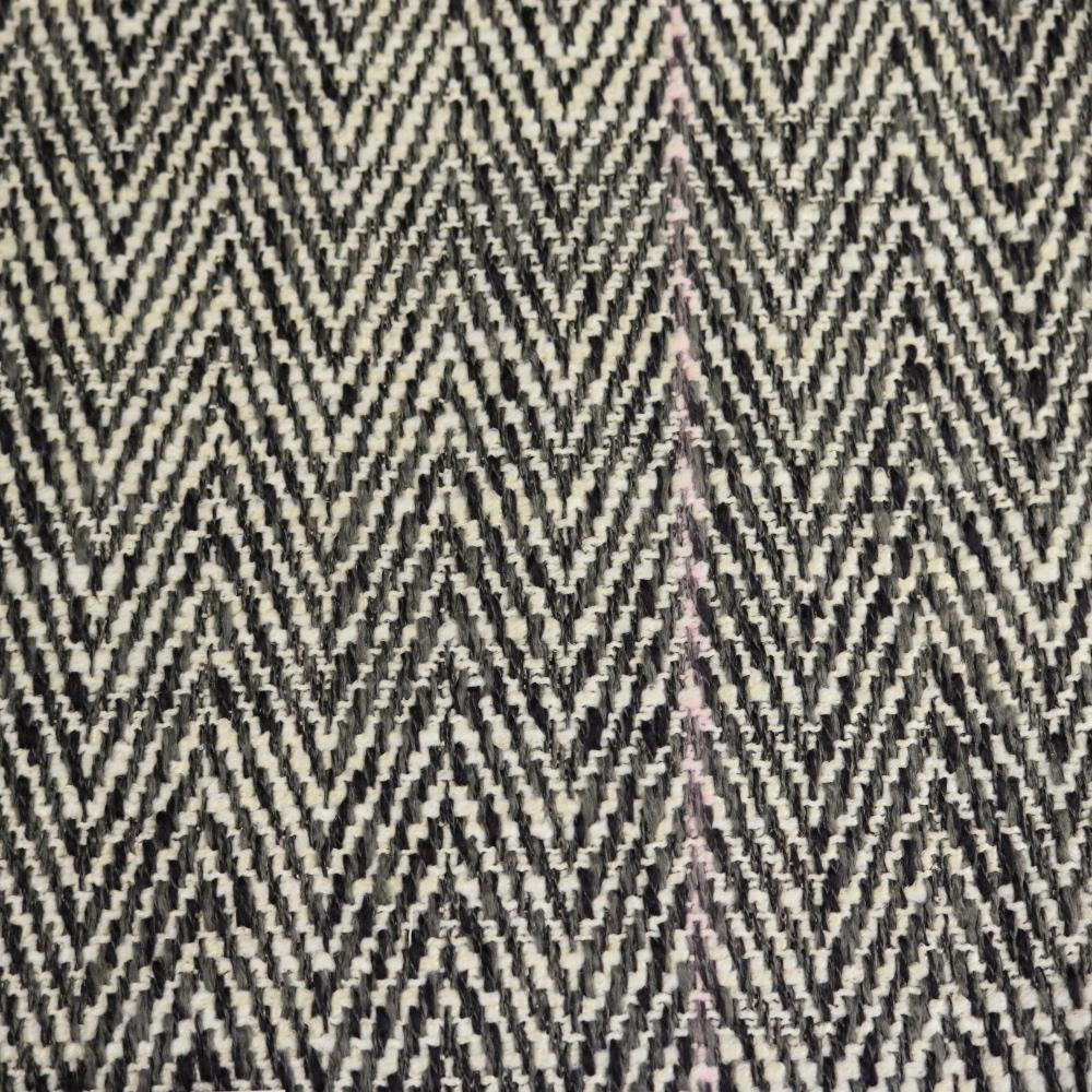 Shelby Textured Small Scale Chevron Pattern Upholstery