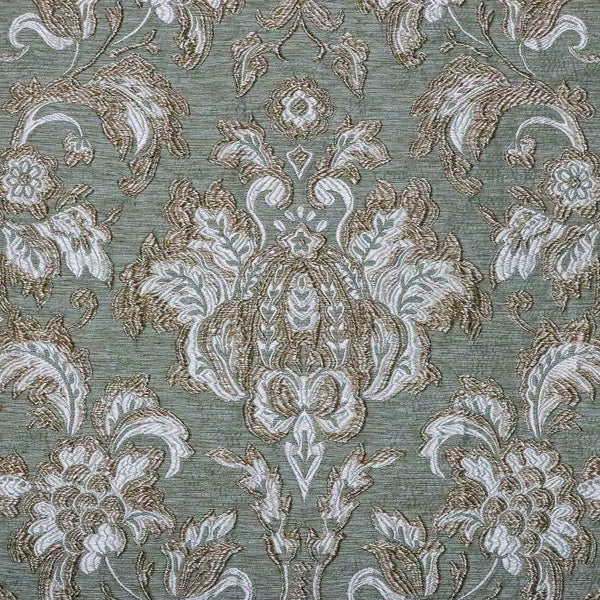 Bellefleur - Brocatelle jacquard Pattern Upholstery Fabric by the Yard - Available in 2 Colors