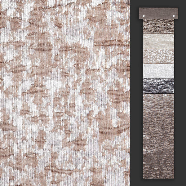 "Kenter - 110"" Organza Fabric Window Curtain Drapery Fabric"