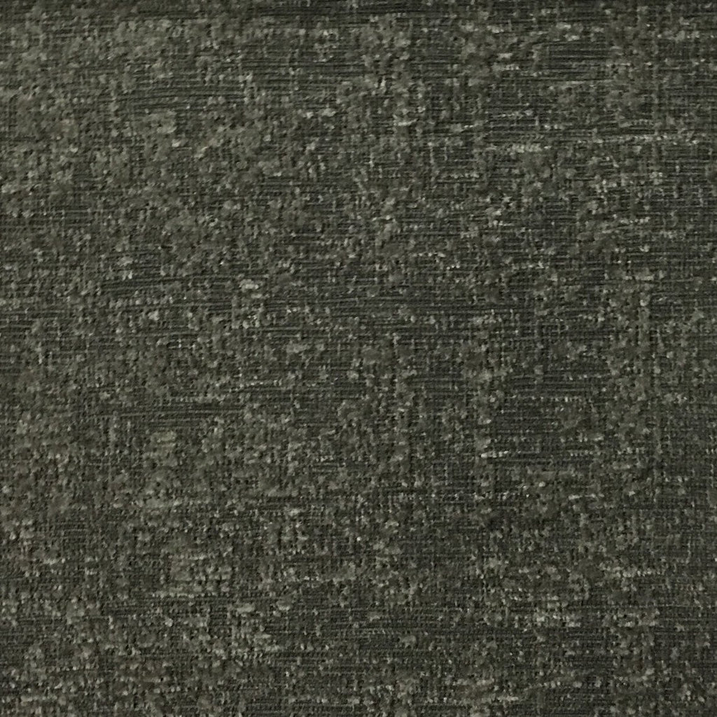 Splendid - Basic Textured Chenille Fabric Upholstery Fabric by the Yard - Available in 17 Colors - Gunmetal - Top Fabric - 9